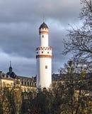 Weisser Turm ou torre branca no Homburg mau Imagem de Stock Royalty Free