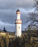 Weisser Turm or White Tower in Bad Homburg Royalty Free Stock Image