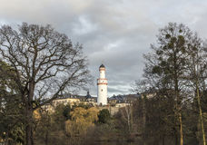 Weisser Turm or White Tower in Bad Homburg Stock Photography