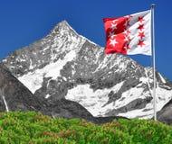 Weisshorn - alpi svizzere Immagine Stock