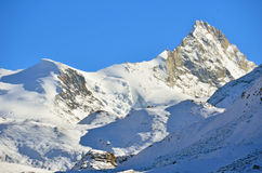 The Weisshorn Stock Photo