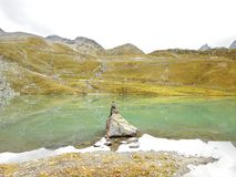 Weisssee. In the Austria mountain Royalty Free Stock Images