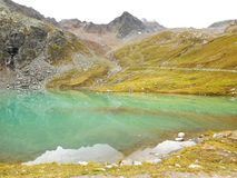 Weisssee. In the Austria mountains Stock Photo
