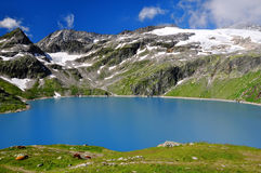 Weisssee in Austrian Alps Royalty Free Stock Photo