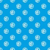 Weit weg nahtloses Blau des Planetenmusters Stockfotos