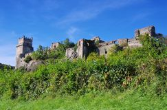 Weitenegg near Donau castle Ruin Stock Image
