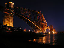 Weiter Brücke lizenzfreie stockfotos