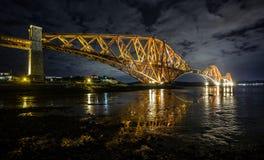 Weiter Brücke Lizenzfreie Stockfotografie
