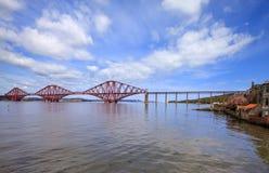 Weiter Brücke in Schottland Stockfotos