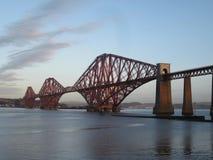 Weiter Brücke, Schottland Lizenzfreie Stockfotografie