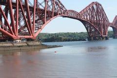 Weiter Brücke Schottland Stockbild