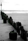 Weiter Rockaway Strand Stockbild