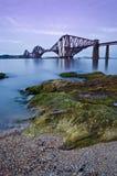 Weiter Schienen-Brücke, Edinburgh Lizenzfreies Stockfoto