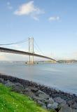 Weiter Straßen-Brücke Lizenzfreie Stockbilder