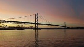 Weiter Straßen-Brücke Lizenzfreie Stockfotos