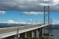 Weiter Straßenbrücke Lizenzfreie Stockfotografie