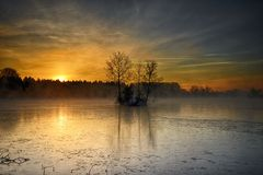 Weitmannsee. Hidden Treasures of Nature Royalty Free Stock Images