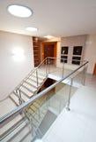 Modernes Treppenhaus Stockbilder