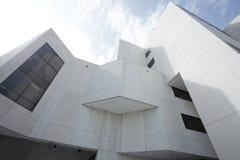 Weitwinkelbild eines Gebäudes Stockbild