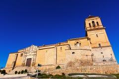 Weitwinkelschuß von Santa Maria la Mayor-Kirche Lizenzfreie Stockbilder