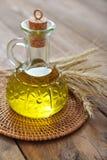 Weizenöl stockfoto