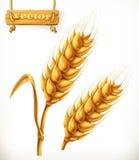 Weizen Übersetzt Ikone vektor abbildung