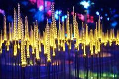 Weizen führte Beleuchtung stockfotos