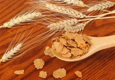 Weizen-Flocken lizenzfreie stockfotografie