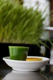 Weizen-Gras-Schuß Stockfotos