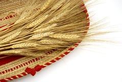 Weizen in Korb II Lizenzfreies Stockfoto