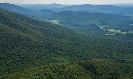 Weizen Tal, Bedford County, Virginia, USA Lizenzfreie Stockbilder