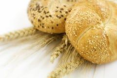 Weizen und Brot Stockfoto