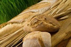 Weizen und Brot Lizenzfreies Stockbild
