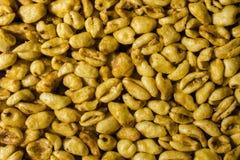 Weizenkörner mit Honig Lizenzfreie Stockfotografie