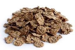 Weizenkleie-Frühstückskost aus Getreide Lizenzfreie Stockfotos