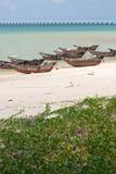 Weizhou island fishing boats. Fishing boats in the north bay of weizhou island Stock Image