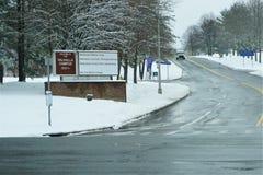 Wejście znak Westchester centrum medyczne Marzec 2019 fotografia royalty free