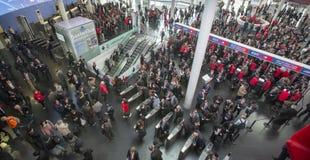 Wejście światowy mobilny kongres obraz royalty free