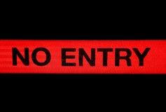 wejście żadny znak Obraz Royalty Free