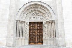 Wejście bazylika święty Denis zdjęcie stock