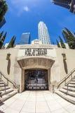 Wejście biblioteki publicznej śródmieście Los Angeles zdjęcie stock