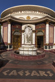 Wejście caesars palace w Las Vegas, NV na Sierpień 11, 201 Obrazy Stock
