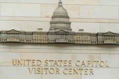 Wejście Capitol gościa centrum Obrazy Royalty Free