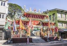 Wejście chińska świątynia Fotografia Royalty Free