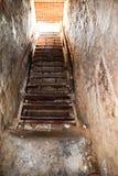 Wejście Cu Chi tunel od wojna w wietnamie (Amerykańska wojna) zdjęcia royalty free