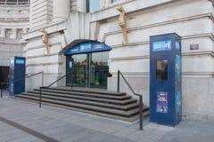 Wejście Dennego życia Londyn akwarium Obraz Royalty Free
