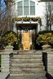 wejście do domu luksus zdjęcia stock