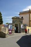 Wejście Etruskie ruiny, Fiesole obraz royalty free