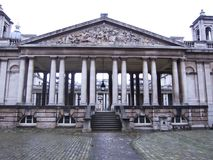 Wejście Greenwich szkoła wyższa Fotografia Royalty Free