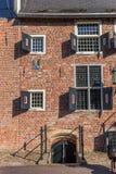 Wejście historyczny kasztel Coevoerden obrazy royalty free
